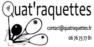 Quat'raquettes - Fournisseur de matériel de tennis de table